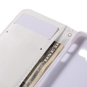 Standy peňaženkové puzdro pre Samsung Galaxy A3 (2016) - srdiečka - 7