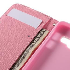 Standy peňaženkové puzdro pre Samsung Galaxy A3 (2016) - kvety - 7