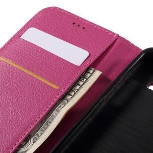 Peňaženkové puzdro pre mobil Samsung Galaxy J3  (2016) - rose - 7