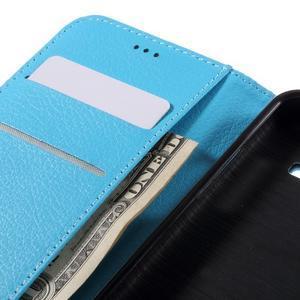 Peněženkové pouzdro na mobil Samsung Galaxy J3  (2016) - světlemodré - 7