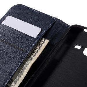 Peněženkové pouzdro na mobil Samsung Galaxy J3  (2016) - tmavěmodré - 7