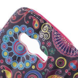 Peňaženkové puzdro pre Samsung Galaxy Trend 2 Lite - farebné kruhy - 7
