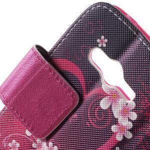 Peňaženkové puzdro pre Samsung Galaxy Trend 2 Lite - srdca - 7
