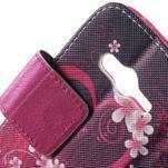 Peňaženkové puzdro pre Samsung Galaxy Trend 2 Lite - srdca - 7/7