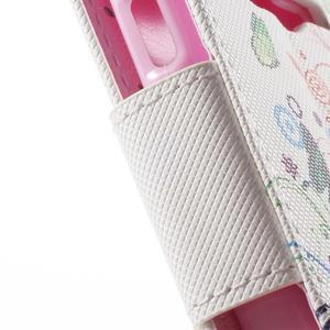 Peňaženkové puzdro pre Samsung Galaxy Trend 2 Lite - motýle - 7