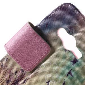 Peňaženkové puzdro pre Samsung Galaxy Trend 2 Lite - vtáčiky - 7