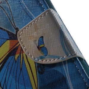 Motive puzdro pre mobil Samsung Galaxy Trend 2 Lite - modrý motýl - 7