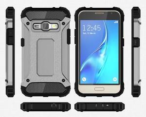 Armory odolný obal pre mobil Samsung Galaxy J1 (2016) - šedý - 7