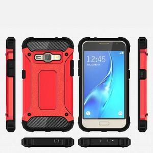 Armory odolný obal pre mobil Samsung Galaxy J1 (2016) - červený - 7