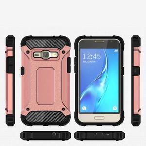 Armory odolný obal pre mobil Samsung Galaxy J1 (2016) - ružovozlatý - 7