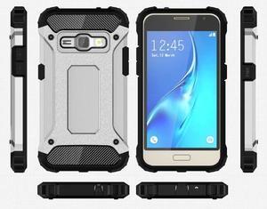 Armory odolný obal pre mobil Samsung Galaxy J1 (2016) - strieborny - 7