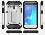 Armory odolný obal pre mobil Samsung Galaxy J1 (2016) - strieborny - 7/7