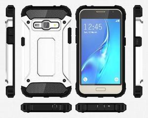 Armory odolný obal pre mobil Samsung Galaxy J1 (2016) - biely - 7