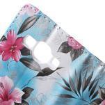Koženkové puzdro pre mobil Samsung Galaxy J5 - modré pozadie - 7/7