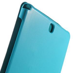 Trifold polohovatelné puzdro pre Samsung Galaxy Tab A 9.7 - svetlo modré - 7