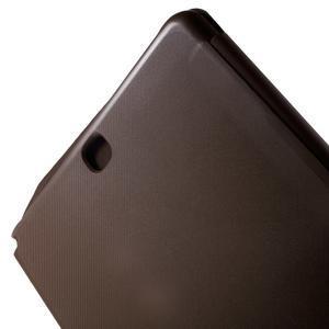 Trifold polohovatelné puzdro na Samsung Galaxy Tab A 9.7 - hnedé - 7
