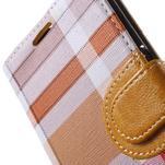 Módní štýlové puzdro na Samsung Galaxy S6 - oranžové - 7/7