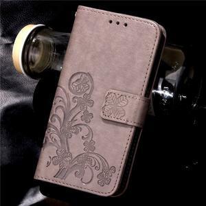 Buttefly PU kožené pouzdro na mobil Honor 7 Lite  - šedé - 7