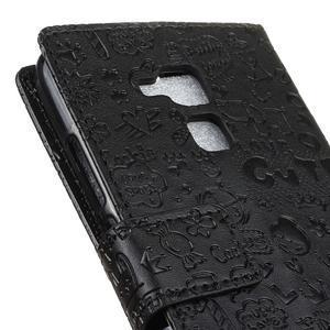 Cartoo pouzdro na mobil Honor 7 Lite - černé - 7