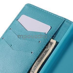 Peňaženkové puzdro Huawei Ascend P8 - modrý slon - 7