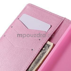 Peňaženkové puzdro Huawei Ascend P8 - roses - 7