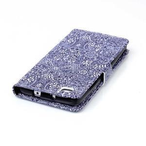 Puzdro na mobil Huawei P8 Lite - textury květin - 7