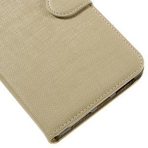 Clothy PU kožené pouzdro na Huawei Mate 8 - champagne - 7