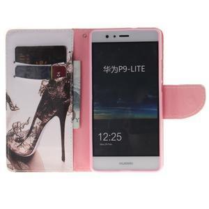 Lethy knižkové puzdro na telefon Huawei P9 Lite - pekelná črievica - 7