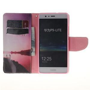 Lethy knížkové pouzdro na telefon Huawei P9 Lite - užívej si - 7