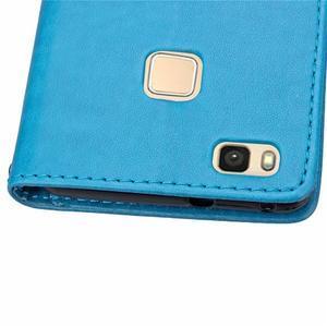 Cloverleaf peněženkové pouzdro na Huawei P9 Lite - modré - 7
