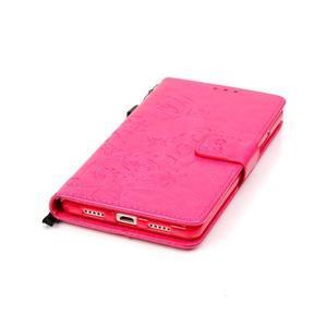 Magicfly knižkové puzdro na telefon Huawei P9 Lite - rose - 7