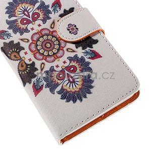 Zapínací peňaženkové puzdro na Huawei Y635 - folk - 7