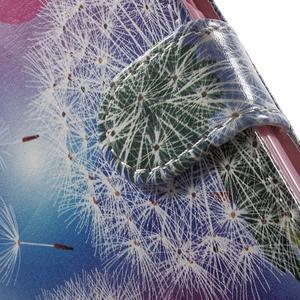 Emotive peňaženkové puzdro pre mobil Lenovo A6000 - púpavy - 7