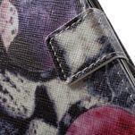 Emotive peňaženkové puzdro pre mobil Lenovo A6000 - cool mačka - 7/7