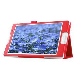 Dvojpolohové puzdro pre tablet Lenovo Tab 2 A8-50 - červené - 7