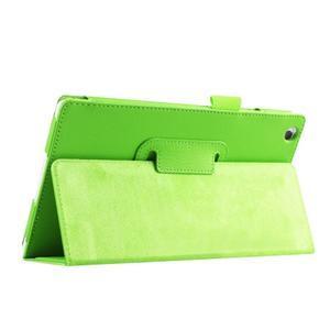 Dvojpolohové puzdro pre tablet Lenovo Tab 2 A8-50 - zelené - 7
