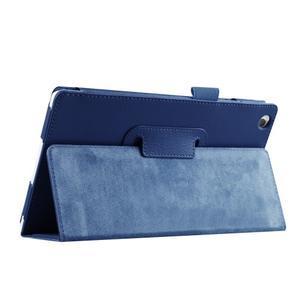 Dvojpolohové puzdro pre tablet Lenovo Tab 2 A8-50 - tmavomodré - 7