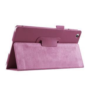Dvojpolohové puzdro pre tablet Lenovo Tab 2 A8-50 - fialové - 7