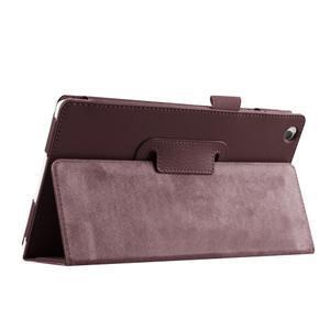 Dvojpolohové puzdro pre tablet Lenovo Tab 2 A8-50 - hnedé - 7