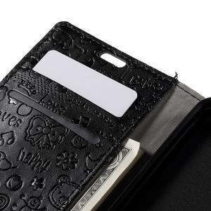 Cartoo peněženkové pouzdro na Lenovo Vibe S1 - černé - 7