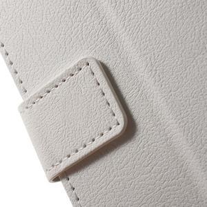 Peněženkové pouzdro na mobil Lenovo Vibe S1 - bílé - 7