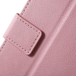 Peňaženkové puzdro pre mobil Lenovo Vibe S1 - ružové - 7