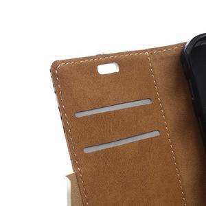 Peňaženkové puzdro pre mobil Microsfot Lumia 550 - kráľovská koruna - 7