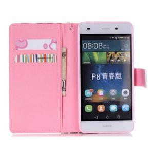 Peňaženkové puzdro Huawei Ascend P8 Lite - motýľe - 7