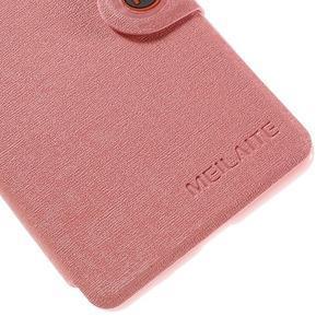 Solid puzdro pre mobil Microsoft Lumia 535 - ružové - 7