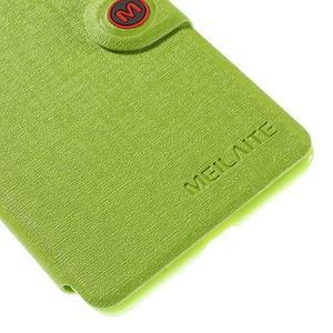 Solid puzdro na mobil Microsoft Lumia 535 - zelené - 7