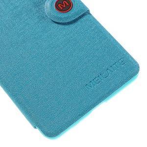 Solid puzdro na mobil Microsoft Lumia 535 - svetlo modré - 7