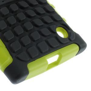 Outdoor odolný kryt na Nokia Lumia 730/735 - zelený - 7