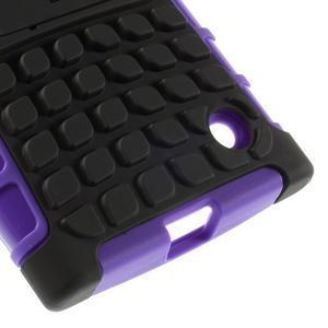 Outdoor odolný kryt pre Nokia Lumia 730/735 - fialový - 7