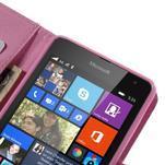 Peňaženkové puzdro pre Microsoft Lumia 535 - motýlci - 7/7